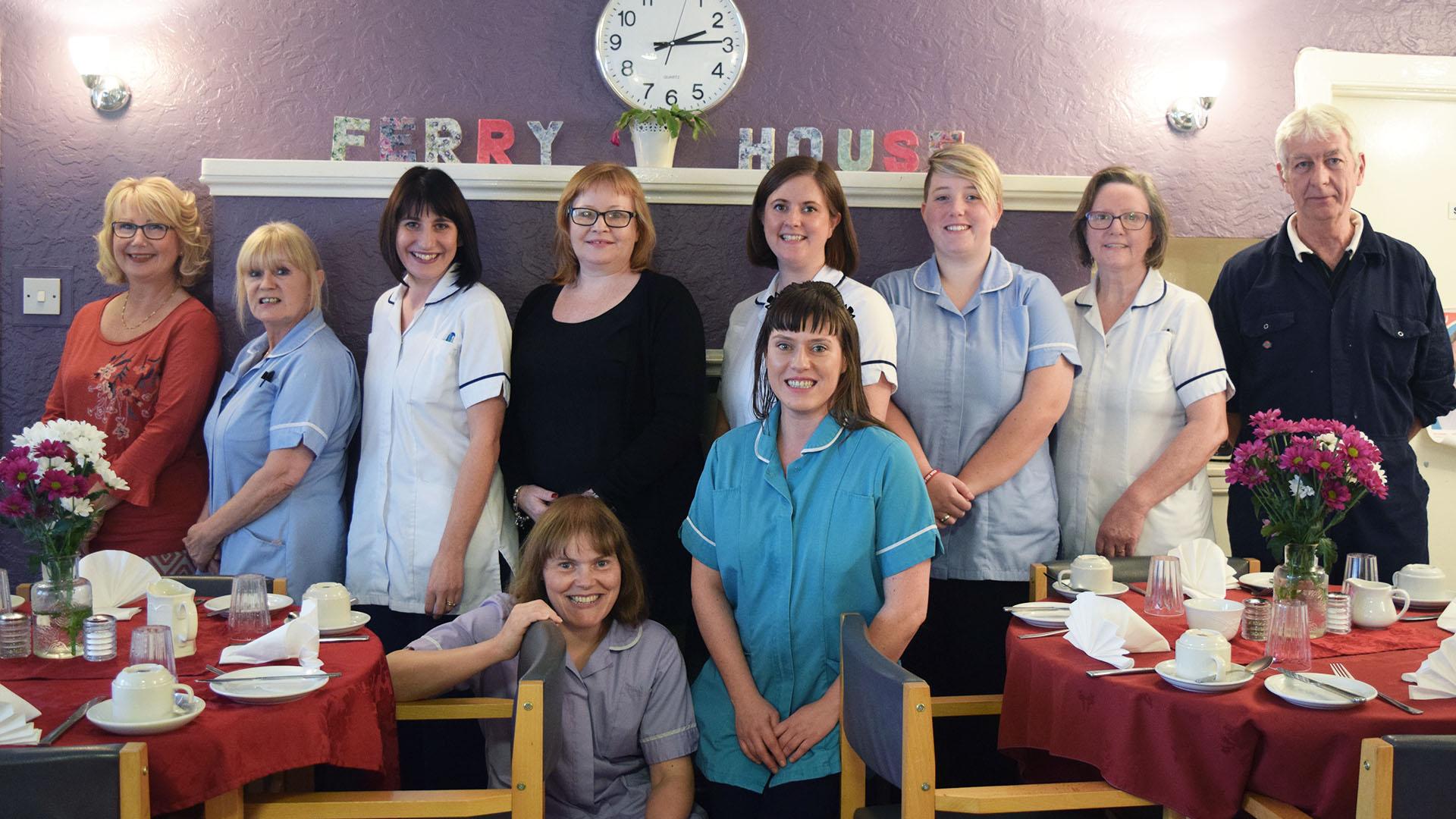 ferry house carer team